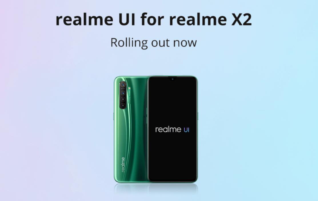 realme x2 - realme UI