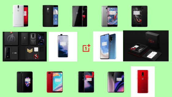 OnePlus Smartphones History