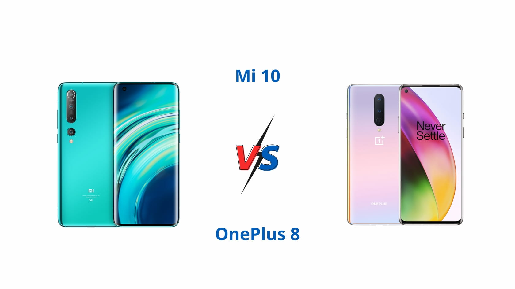 Mi 10 vs OnePlus 8