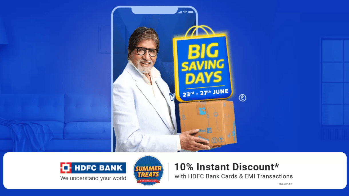 Flipkart Big Savings Days